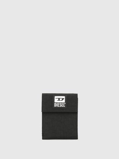 Diesel - HIRESH FD, Black - Small Wallets - Image 1