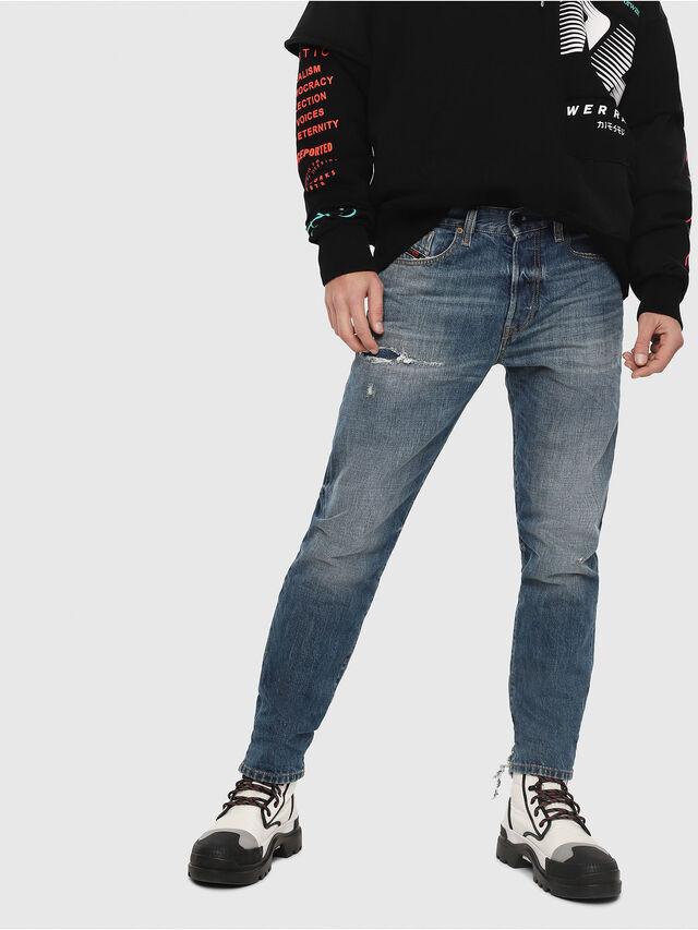 Diesel - Mharky 080AH, Medium blue - Jeans - Image 1