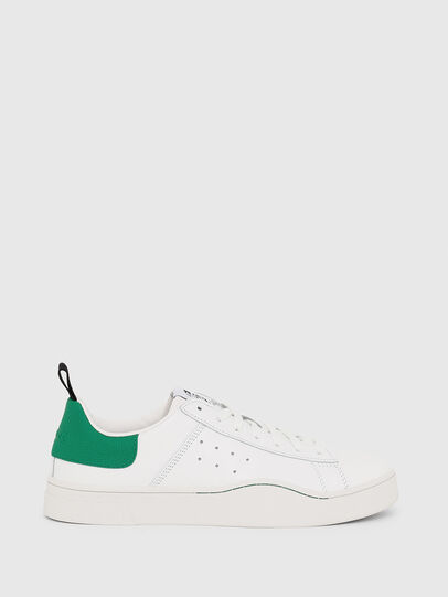 Diesel - S-CLEVER LOW, White/Green - Sneakers - Image 1