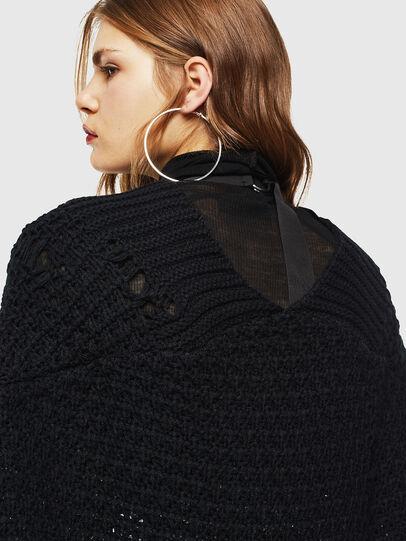 Diesel - M-MIKO, Black/Silver - Knitwear - Image 5
