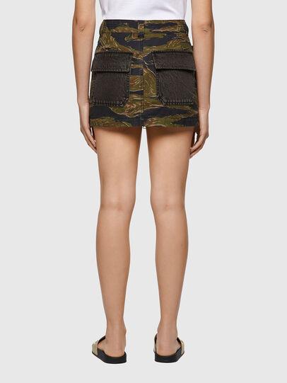 Diesel - O-IRAIDA-CMF, Military Green - Skirts - Image 2