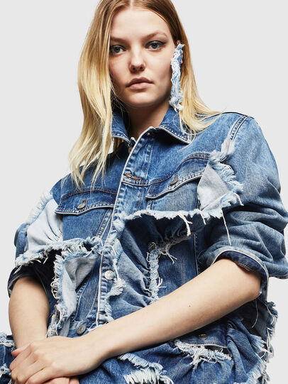 Diesel - DE-ABBY,  - Denim Jackets - Image 3