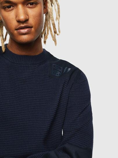 Diesel - K-LESTER, Dark Blue - Knitwear - Image 3