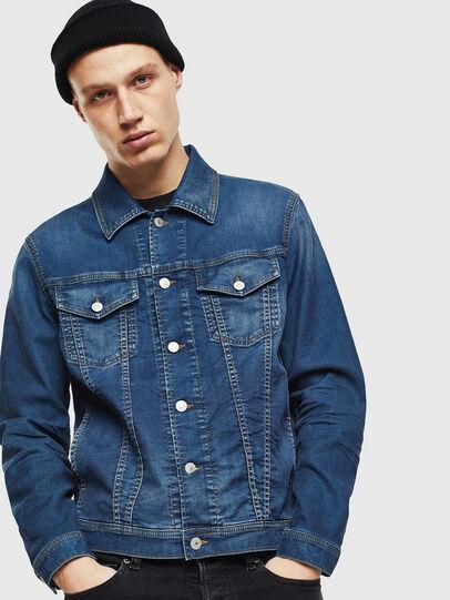 Diesel - NHILL JOGGJEANS, Blue Jeans - Denim Jackets - Image 1