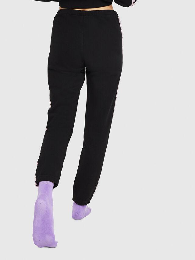 Diesel - UFLB-MARIN, Black/Pink - Pants - Image 2
