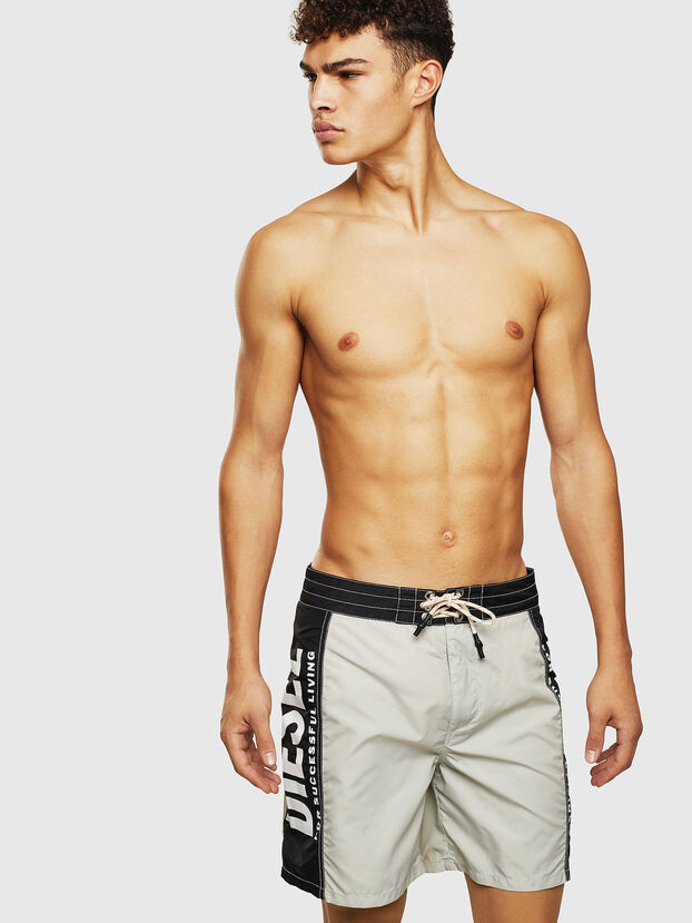 BMBX-WAVE-LONG-F, Gray/Black - Boardshorts