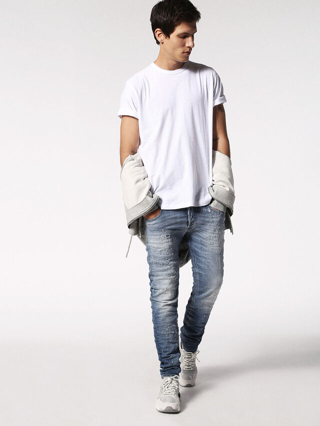 Diesel - T-TERRENCE, White - T-Shirts - Image 4