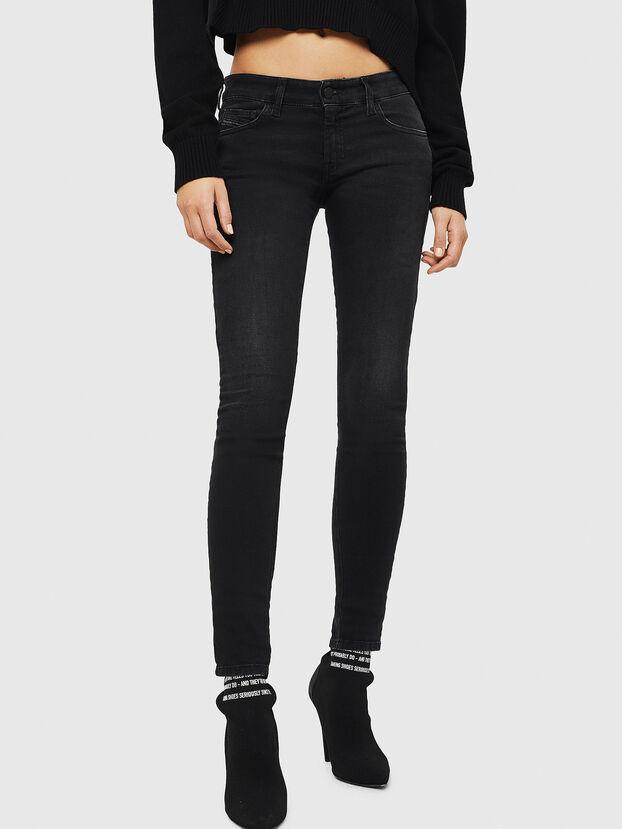Slandy Low 069GG, Black/Dark grey - Jeans