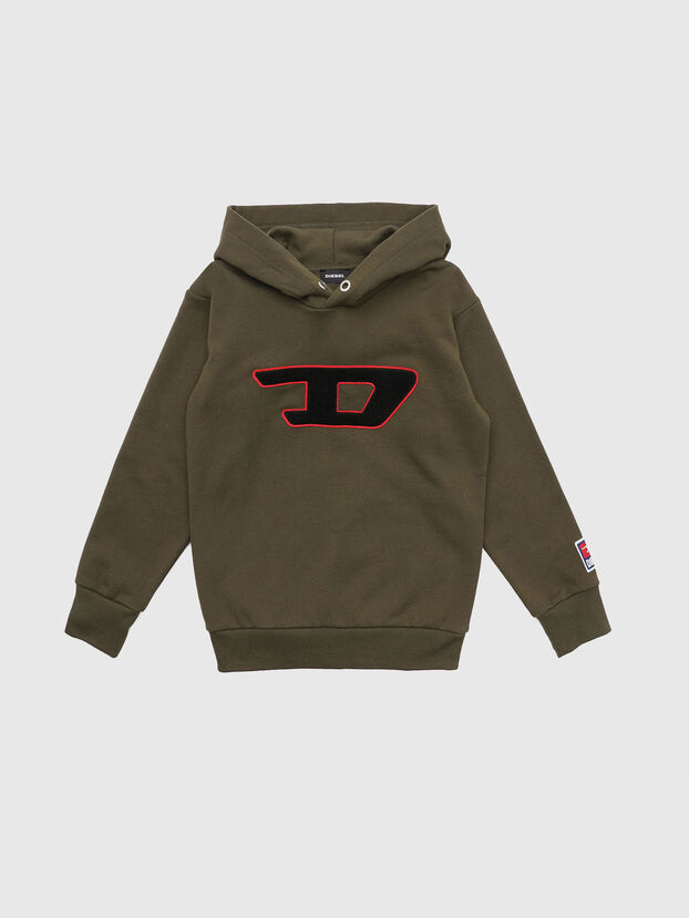 SDIVISION-D OVER, Military Green - Sweaters