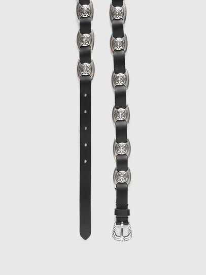 Diesel - B-SNAKY, Black - Belts - Image 3