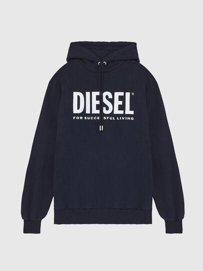 Diesel - S-GIR-HOOD-DIVISION-, Dark Blue - Sweaters - Image 1