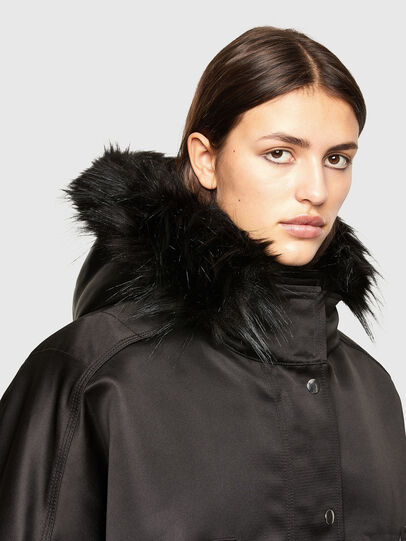 Diesel - W-URSULA-A, Black - Winter Jackets - Image 3