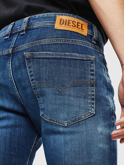 Diesel - Sleenker 0097T, Dark Blue - Jeans - Image 5