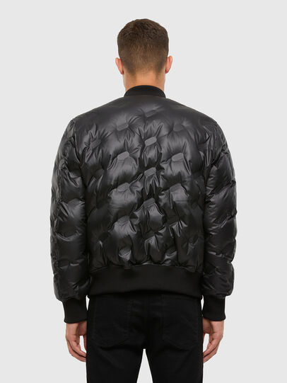 Diesel - W-ON-THERMO, Black - Winter Jackets - Image 2