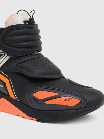 Diesel - ASTARS-SKBOOT, Black/Orange - Sneakers - Image 7