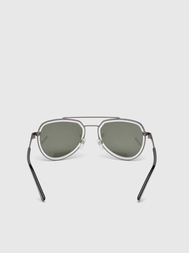 Diesel DL0266, Black/Grey - Eyewear - Image 4