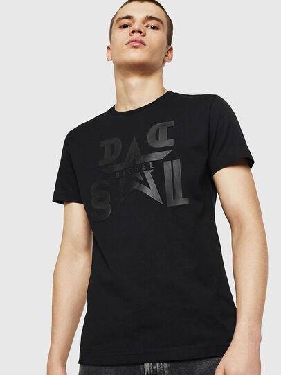 Diesel - T-DIEGO-A8, Black - T-Shirts - Image 1
