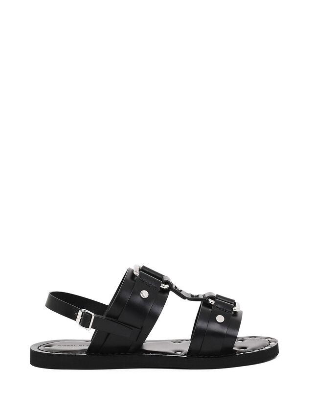 Diesel - SS19-5, Black - Sandals - Image 1