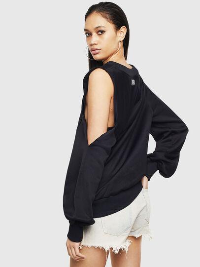 Diesel - F-INVERT, Black - Sweaters - Image 2