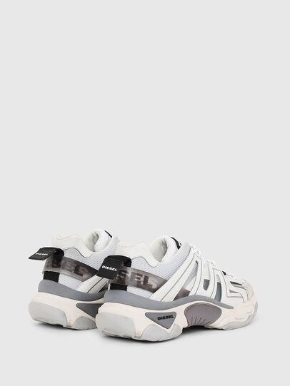 Diesel - S-KIPPER LOW TREK, White - Sneakers - Image 3