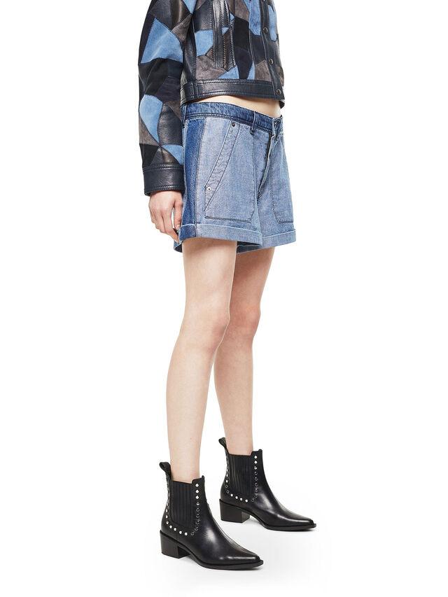 Diesel - SHANTELLE, Blue Jeans - Shorts - Image 3