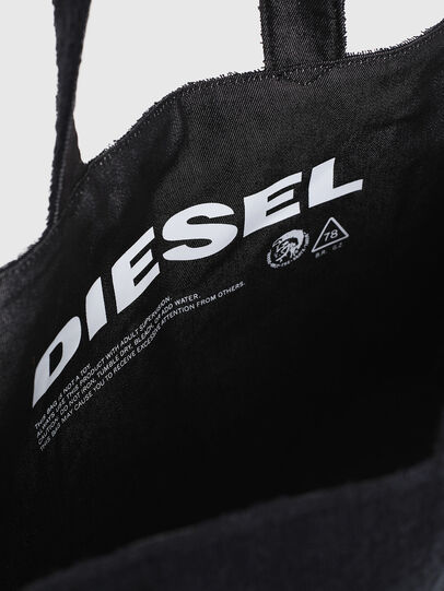Diesel - D-THISBAG SHOPPER L, Black - Shopping and Shoulder Bags - Image 4