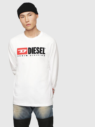 Diesel - T-JUST-LS-DIVISION,  - T-Shirts - Image 1