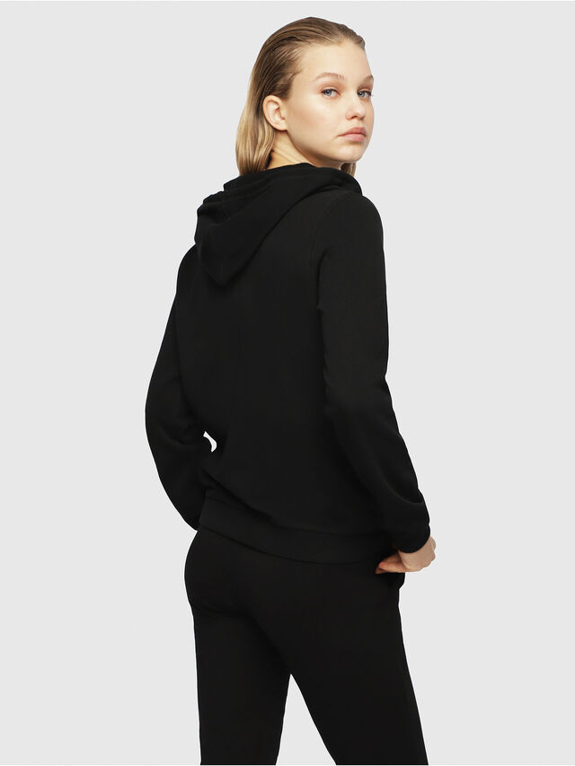 Diesel UFLT-BRANDAL, Black - Sweaters - Image 2