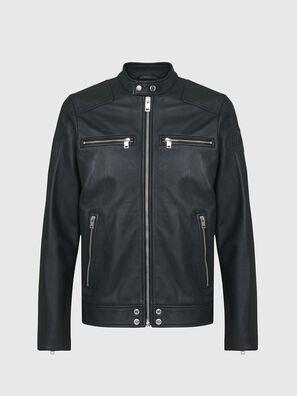 L-BOY, Dark Green - Leather jackets