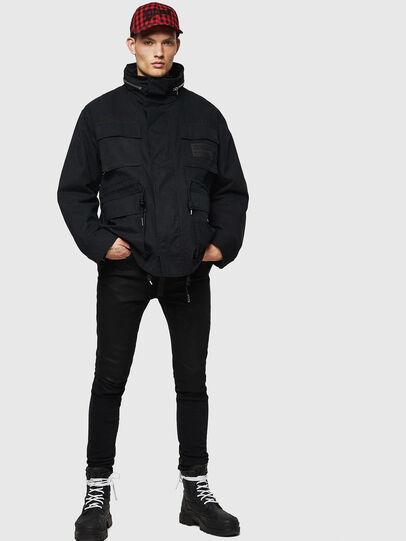Diesel - J-TOUCHIN, Black - Jackets - Image 6