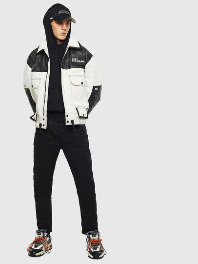Diesel - J-KENDY, White/Black - Jackets - Image 8