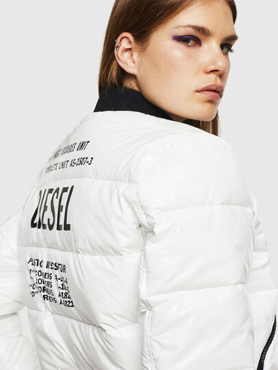 Diesel - W-ONY, White - Winter Jackets - Image 3