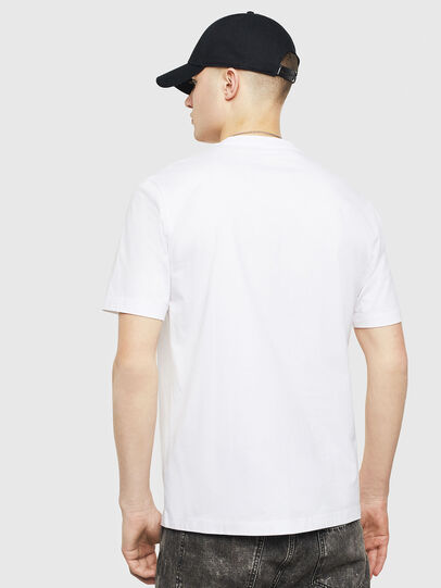 Diesel - T-JUST-T24, White - T-Shirts - Image 2