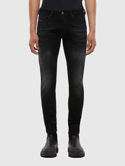 Diesel - Sleenker 0092B, Black/Dark grey - Jeans - Image 1