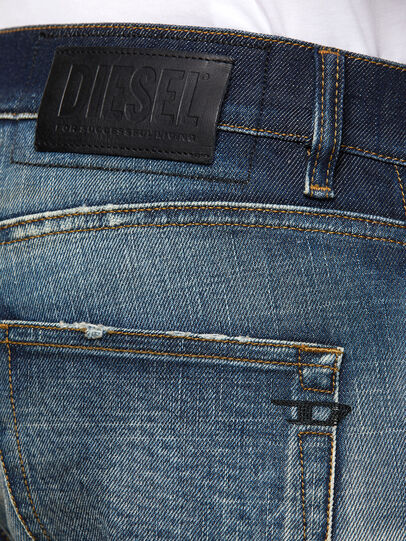 Diesel - D-Strukt 0092I, Dark Blue - Jeans - Image 4