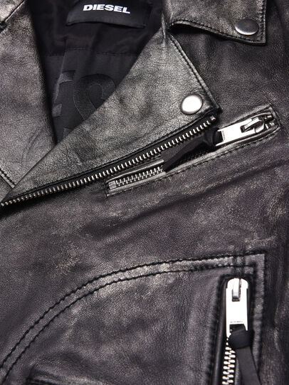 Diesel - JINGRAN, Black - Jackets - Image 3
