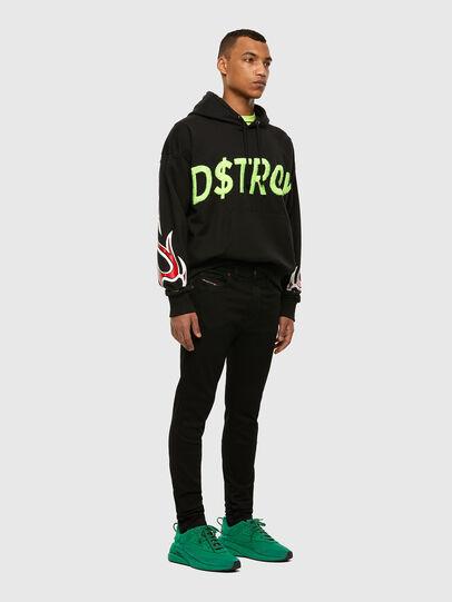 Diesel - D-Istort 069EF, Black/Dark grey - Jeans - Image 5