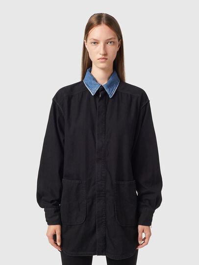 Diesel - DE-ZIMPY-SP, Black - Dresses - Image 1