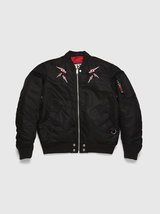 CL-J-ROSS-REV-BIGM, Black - Winter Jackets