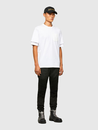 Diesel - T-FONTAL, White - T-Shirts - Image 5