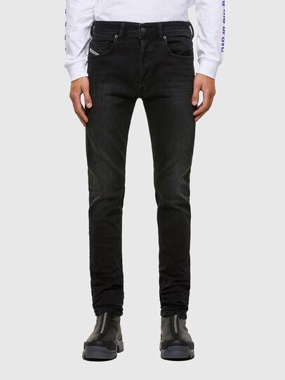 Diesel - Sleenker 009DH, Black/Dark grey - Jeans - Image 1