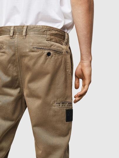 Diesel - P-JARED, Beige - Pants - Image 4