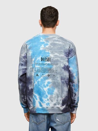 Diesel - S-MART-E4, Grey/Blue - Sweaters - Image 2