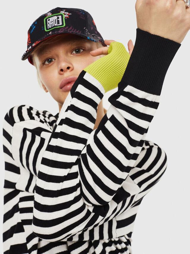 Diesel - M-LISY, Black/White - Knitwear - Image 3