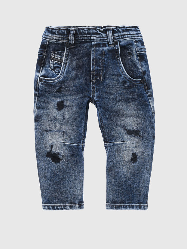 FAYZA-B-N JOGGJEANS, Medium blue - Jeans