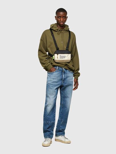 Diesel - DRESSLEK, White/Orange - Crossbody Bags - Image 6
