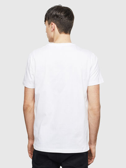Diesel - T-DIEGO-S15, White - T-Shirts - Image 2
