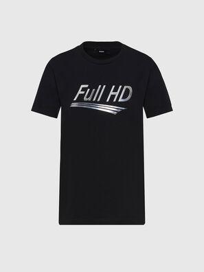 T-SILY-E56, Black - T-Shirts