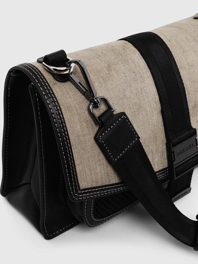 Diesel - MISS-MATCH CROSSBODY, Black/Grey - Crossbody Bags - Image 3