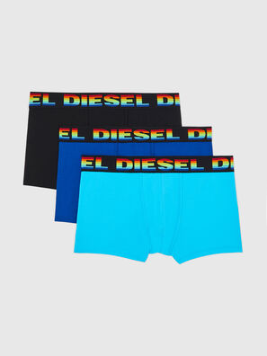 UMBX-DAMIENTHREEPACK, Blue/Black - Trunks
